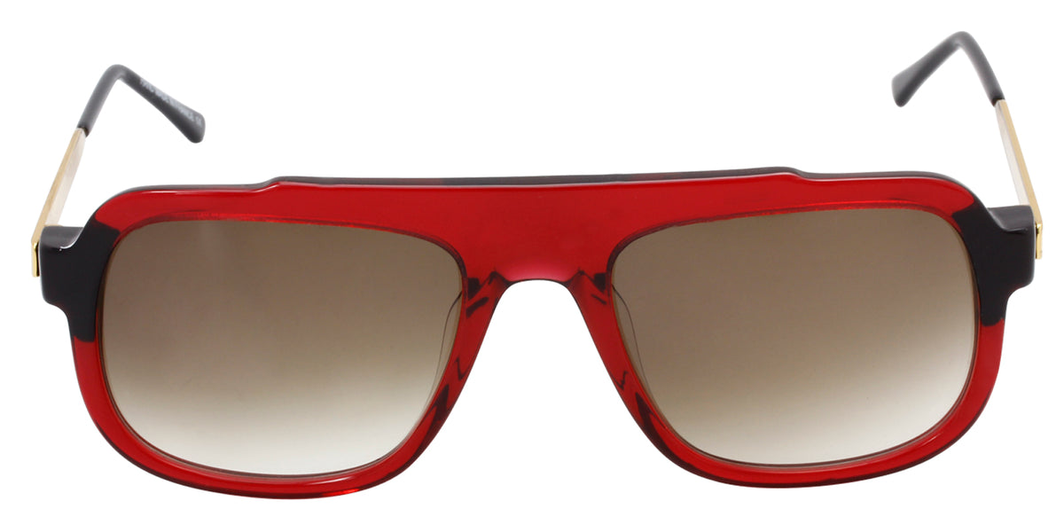 Thierry Lasry - Mastery Red Rectangular Men, Women Sunglasses - 57mm
