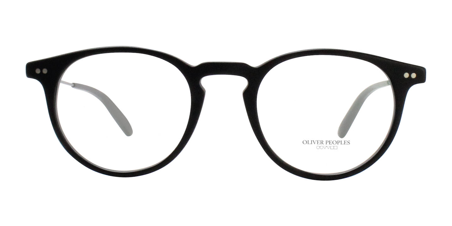 Oliver Peoples Ryerson Black / Clear Lens Eyeglasses