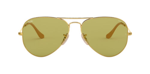 Ray-Ban RB3025 Gold / Green Lens Solid Polarized