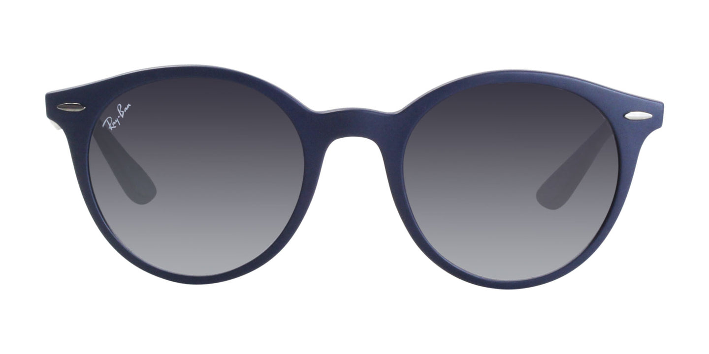 Ray Ban - RB4296 Blue/Gray Gradient Oval Unisex Sunglasses - 50mm