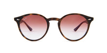 Ray Ban RB 2180 Havana / Red Lens Sunglasses