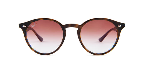 Ray-Ban RB 2180 Havana / Red Lens Sunglasses
