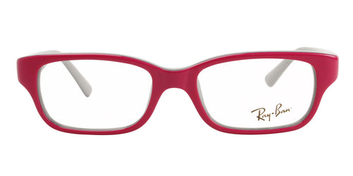 Ray Ban Rx - RY1527 Pink Rectangular Unisex Eyeglasses - 45mm