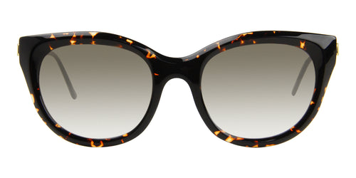 Thierry Lasry DirtyMindy Tortoise / Brown Lens Sunglasses
