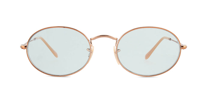 Ray Ban - RB3547N Copper/Blue Oval Unisex Sunglasses - 54mm