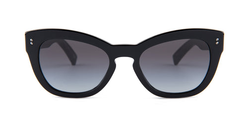 Valentino VA4037 Black / Gray Lens Sunglasses