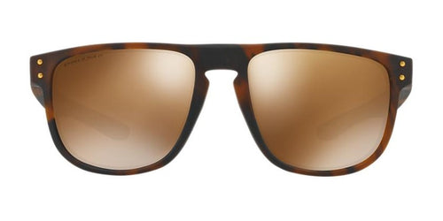 Oakley - OO9377 Tortoise Square Unisex Polarized Sunglasses - 55mm
