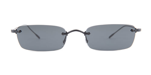 Oliver Peoples Daveigh Black / Gray Lens Sunglasses