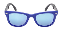 Ray Ban - RB4105 Blue/Blue Mirror Rectangular Unisex Sunglasses - 50mm