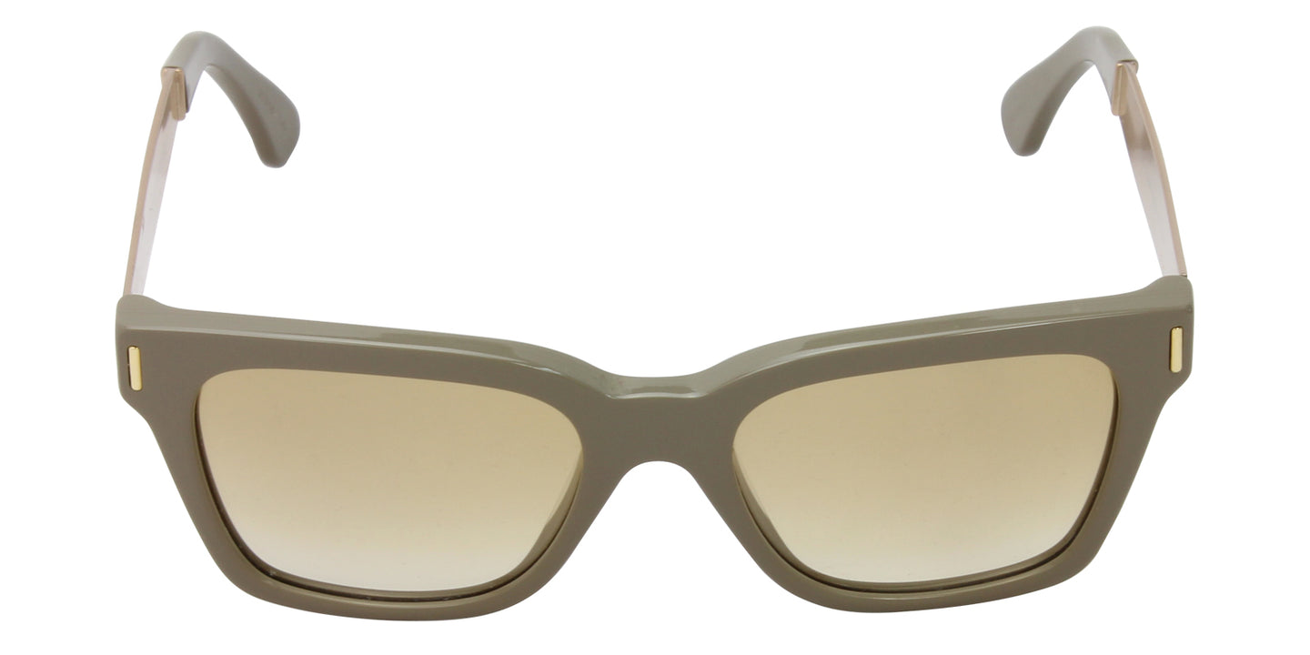 Retrosuperfuture - America Beige Rectangular Women Sunglasses - 51mm
