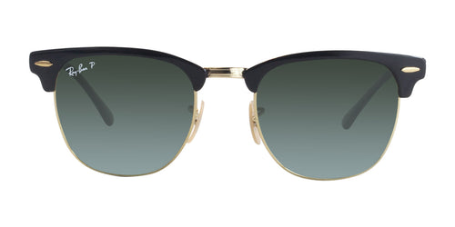 Ray Ban - RB3716 Black Rectangular Unisex Sunglasses - 51mm