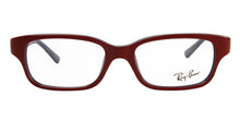 Ray Ban Jr - RY1527 Red Rectangular Unisex Eyeglasses - 47mm