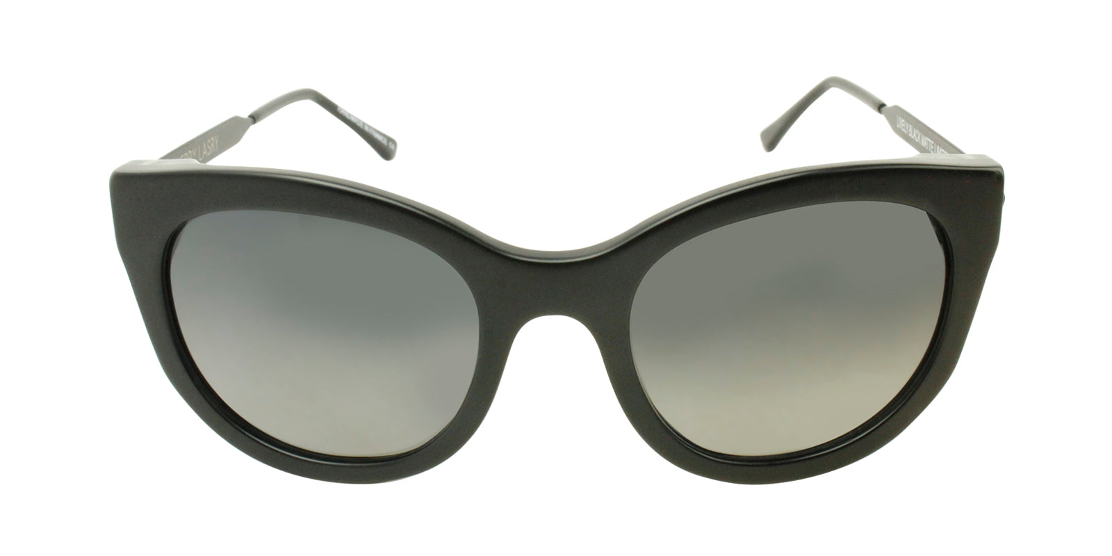 Thierry Lasry - Lively Black Cat-Eye Women Sunglasses - mm