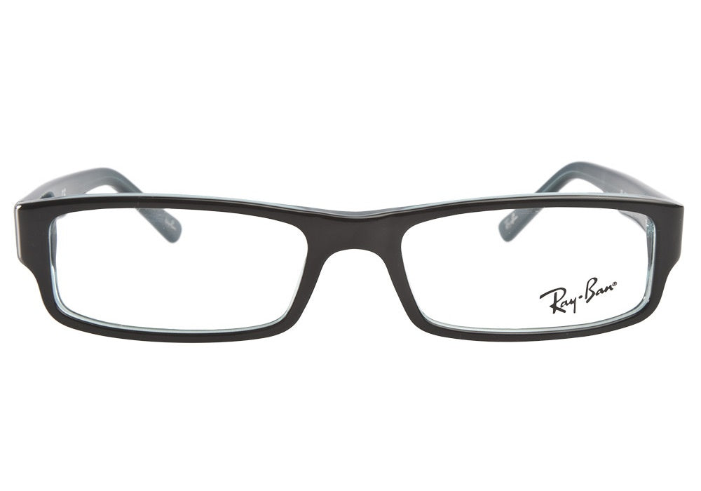 Ray Ban Rx - RX5246 Black Square Unisex Eyeglasses - 50mm