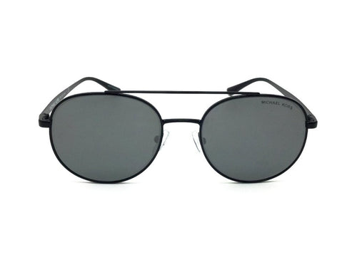 Michael Kors MK1021 Black / Black Lens Mirror Sunglasses