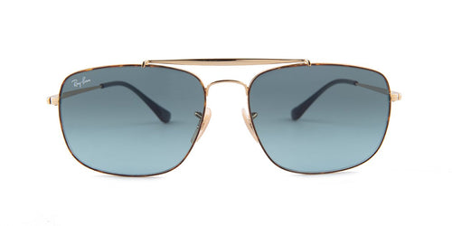 Ray-Ban The Colonel Havana / Gold / Blue Lens