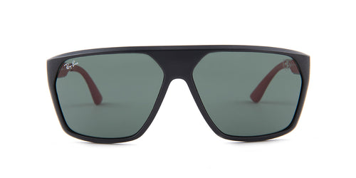 Ray Ban - RB4309M  Black Square Men Sunglasses - 61mm