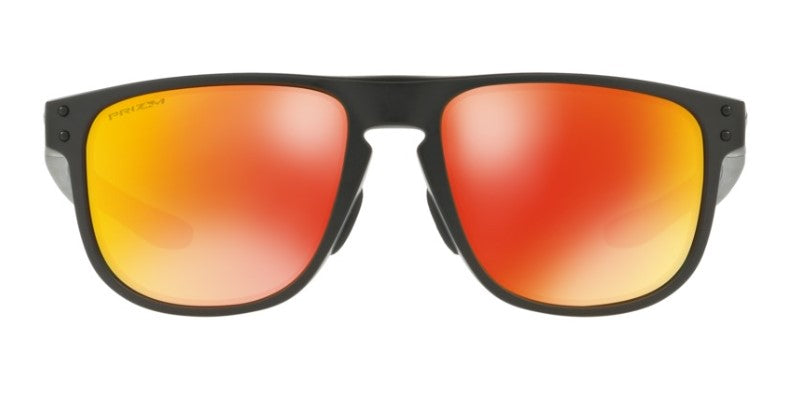 Oakley - Holbrook Black/Ruby Square Unisex Sunglasses - 55mm