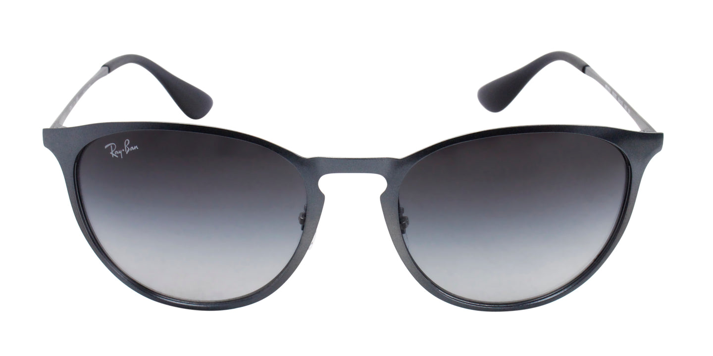 Ray Ban - RB3539 Gray/Gray Gradient Oval Women Sunglasses - 54mm
