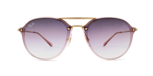 Ray Ban - RB4292N Pink Round Women Sunglasses - 61mm