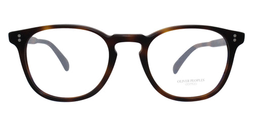 Oliver Peoples Finley Esq Tortoise / Clear Lens Eyeglasses
