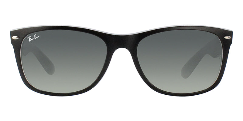 Ray Ban - New Wayfarer Black/Green Gradient Unisex Sunglasses - 58mm