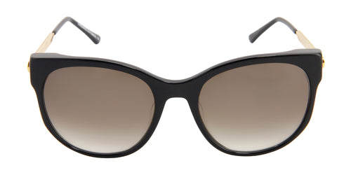 Thierry Lasry - Axxxexxxy Black Oval Women Sunglasses - 56mm