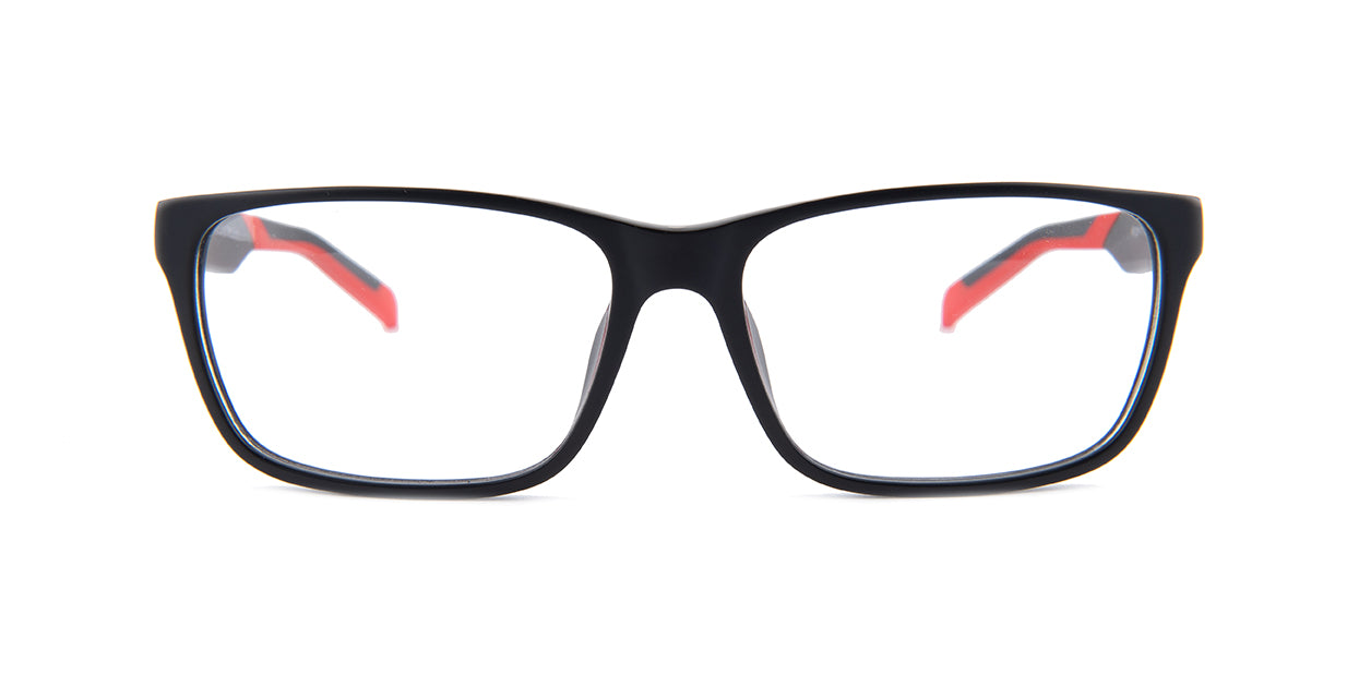 Tagheuer TH0552 Black / Clear Lens Eyeglasses