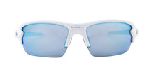 Oakley Flak XS White / Blue Lens Mirror Polarized Sunglasses