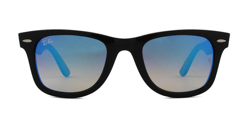 Ray-Ban RB4340 Black / Blue Lens Mirror