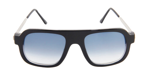 Thierry Lasry Kurupty Black / Blue Lens Sunglasses