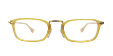 Persol - PO 3044V Yellow Rectangular Unisex Eyeglasses - 50mm
