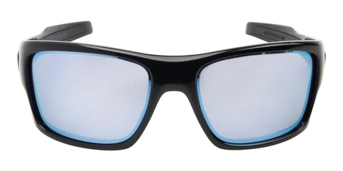 Oakley - Turbine Black/Blue Rectangular Men Sunglasses - 65mm