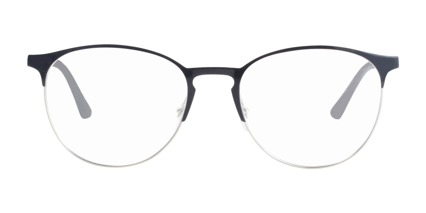 Ray Ban Rx - RX6375 Black Oval Unisex Eyeglasses - 53mm