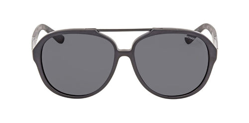 Michael Kors MK2032 Black / Gray Lens Solid Polarized Sunglasses