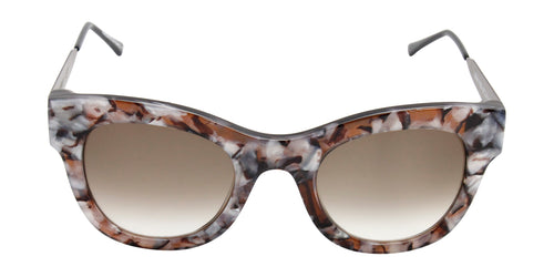 Thierry Lasry - Leggy Brown Oval Women Sunglasses - 52mm