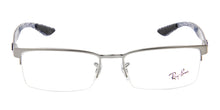 Ray Ban Rx - RX8412 Silver Semi-Rimless Women Eyeglasses - 54mm