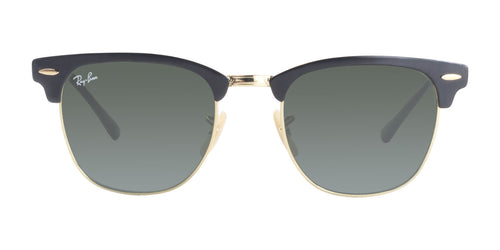 Ray Ban - RB3716 Black Gold/Green Rectangular Unisex Sunglasses - 51mm