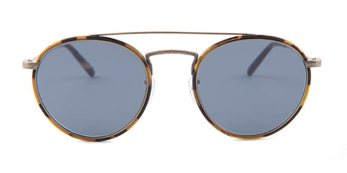 Oliver Peoples Ellice Tortoise / Blue Lens Sunglasses