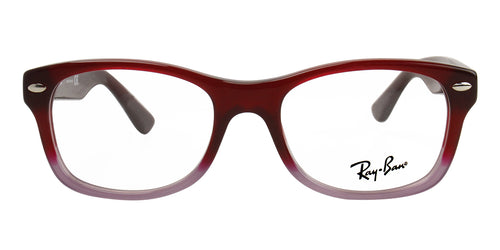 Ray Ban Rx - RY1528 Red Rectangular Unisex Eyeglasses - 46mm