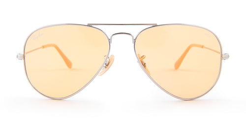 d21671792a Ray Ban RB3025 Silver   Orange Lens Sunglasses