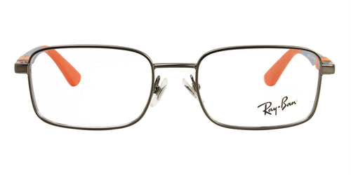 Ray Ban Jr - RY1043 Gray Rectangular Unisex Eyeglasses - 46mm