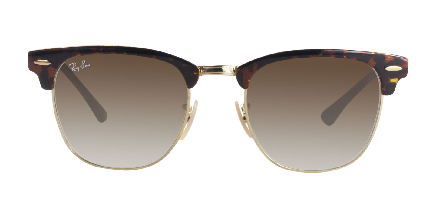 Ray Ban - RB3716 Tortoise Gold Rectangular Unisex Sunglasses - 51mm