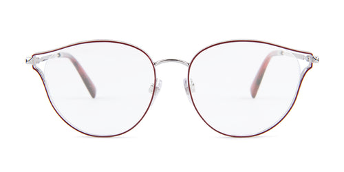 Valentino - VA1009 Silver Red  Women Eyeglasses - 53mm