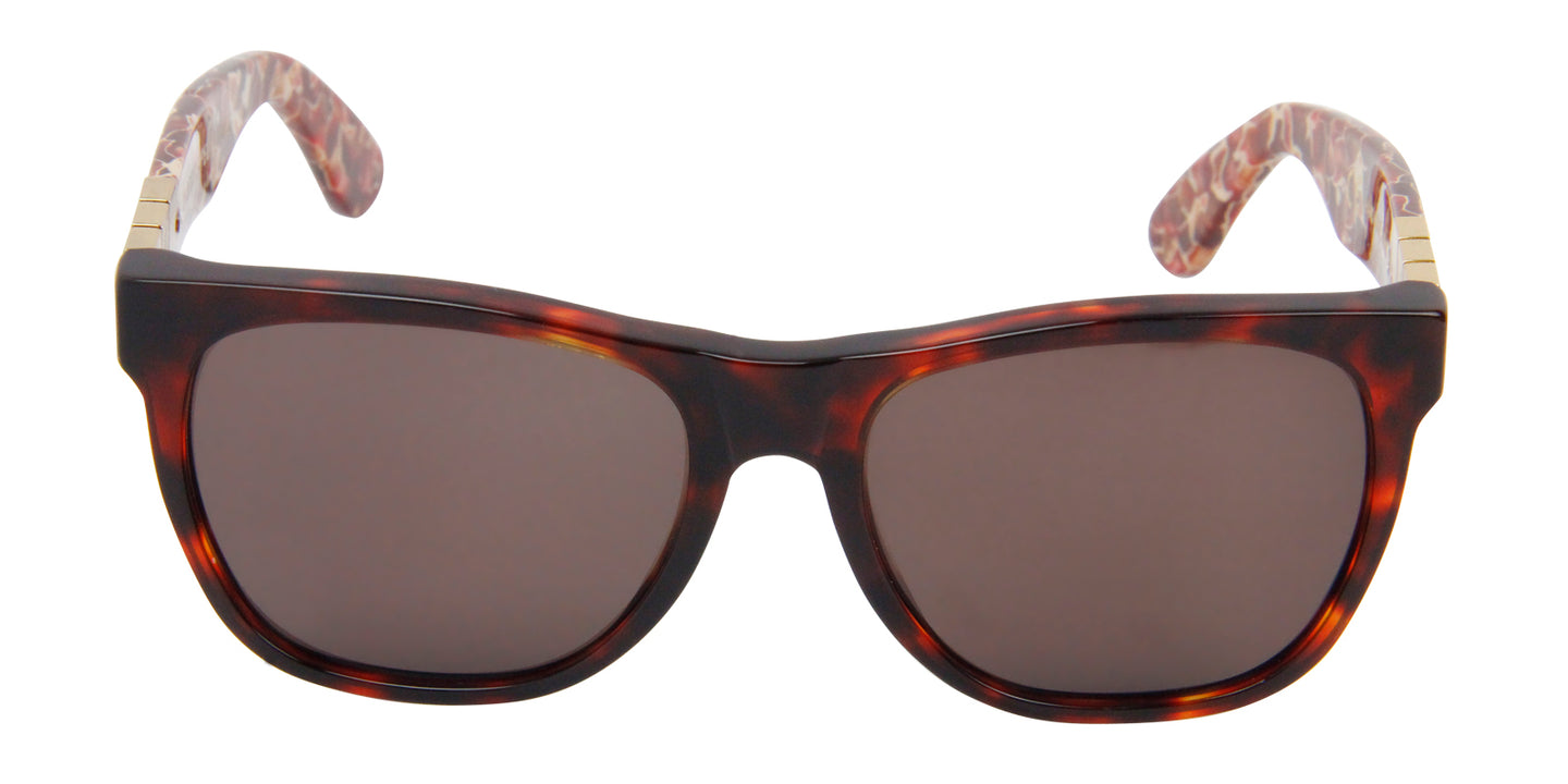 Retrosuperfuture - Classic Tortoise Oval Women Sunglasses - 55mm