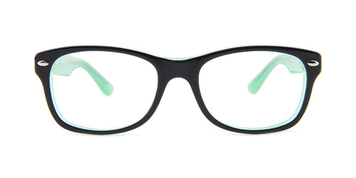 Ray Ban Jr - RY1528 Black Square Kids Eyeglasses - 48mm