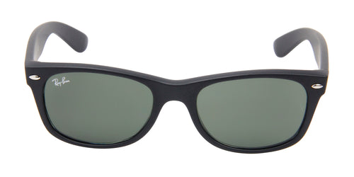 Ray Ban - New Wayfarer Black Wayfarer Unisex Sunglasses - 52mm