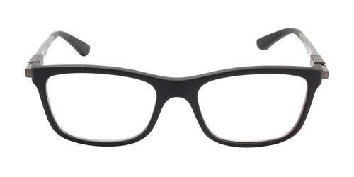 Ray Ban Jr - RY1549 Black Rectangular Kids Eyeglasses - 48mm
