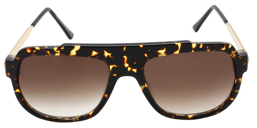 Thierry Lasry Century Tortoise / Brown Lens Sunglasses