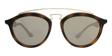 Ray Ban - RB4257 Tortoise/Brown Mirror Oval Unisex Sunglasses - 53mm